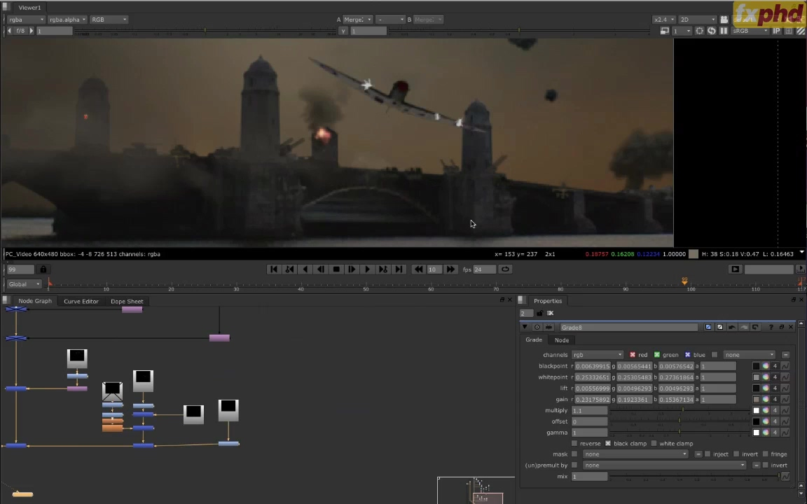 FXPHD Review – NUK214 – Nuke and the VFX Pipeline | Victor